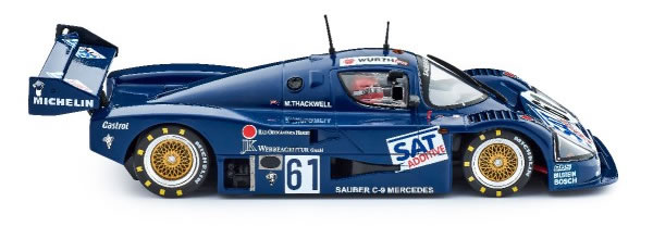 Slot.it: La Sauber Mercedes C9 – Norisring 1987 #61 (CA06I).