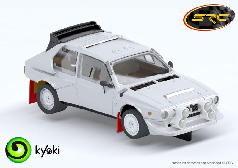 SRC: Un peu de retard pour la Lancia Delta S4