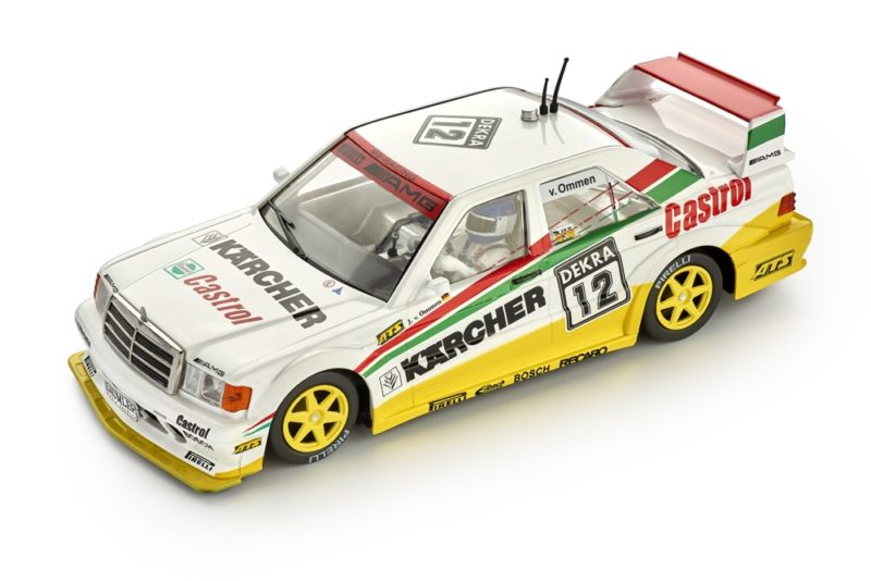 Slot.it: la Mercedes 190E DTM #12 - 1992 Zolder - CA44b