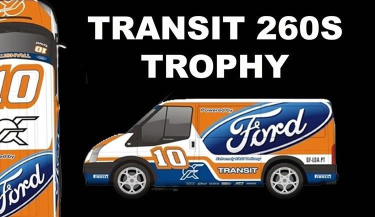 Fly Car Model - Ford Transit 260S