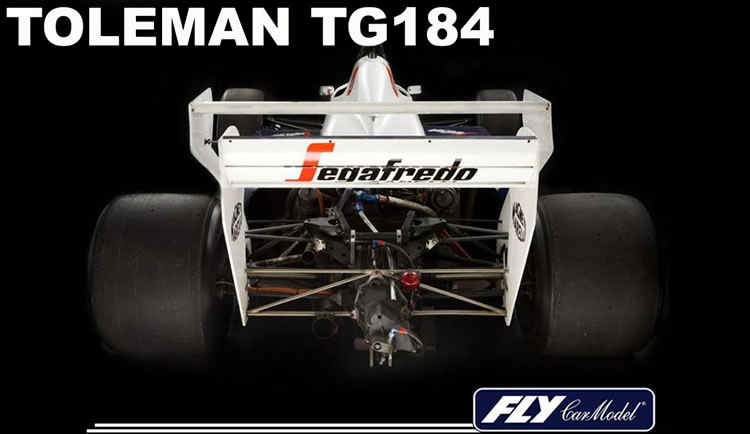 Fly Car Model - Toleman TG184