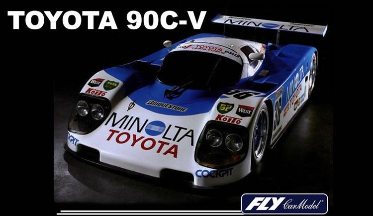 Fly Car Model - toyota 90C-v