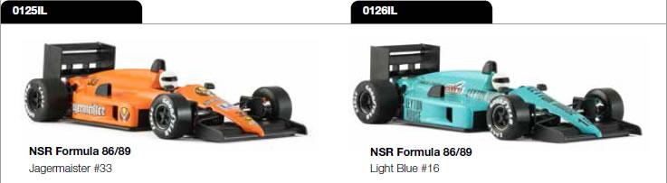 Formule 1 86-89 - 0125IL & 0126IL
