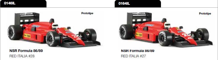 Formule 1 86-89 - 0146IL & 0164IL