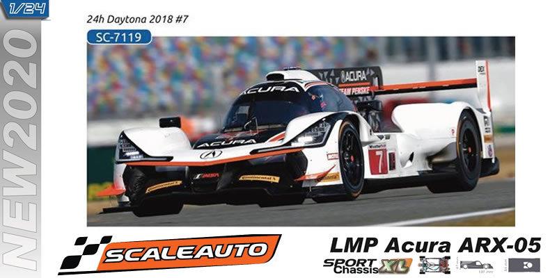 LMP Scaleauto - Acura - Daytona 2018 #7