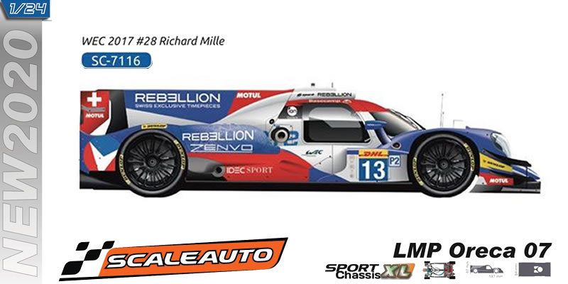 LMP Scaleauto - ORECA7 - Rebellion Team