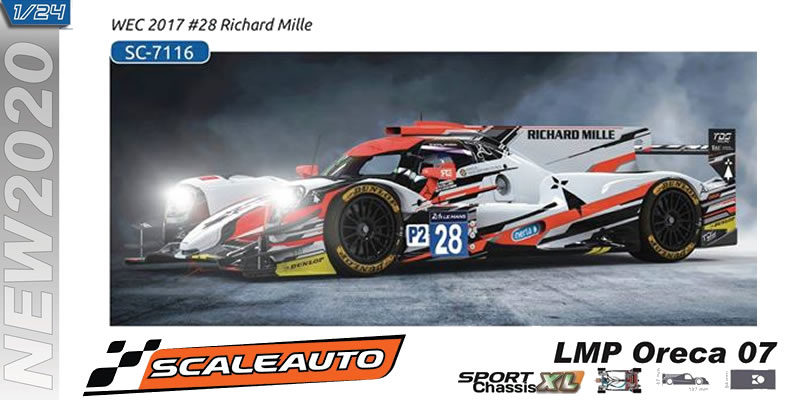 LMP Scaleauto - ORECA7 - Richard Mille