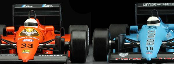 NSR Slot: les deux premières livrées des Formule 1 86/89