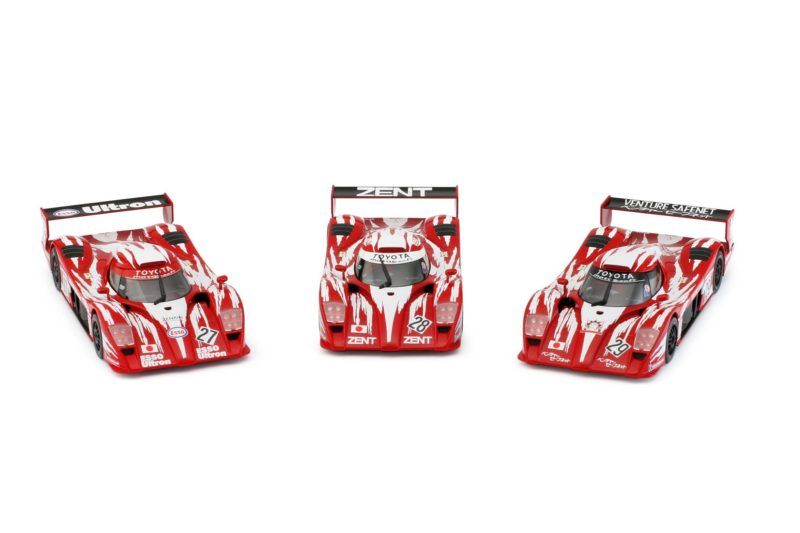 REVOSLOT RS0055 – Pack Toyota GT One – #27 #28 #29