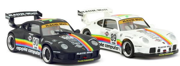 Revoslot: les photos des quatres nouvelles livrées des Porsche 911 GT2