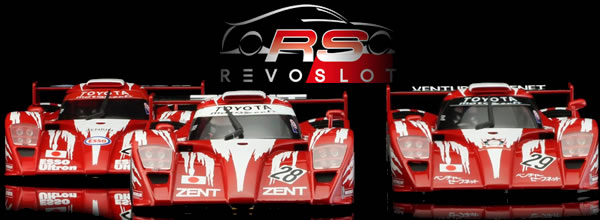 Revoslot: les photos officielles des Toyota GT-One Le Mans 98