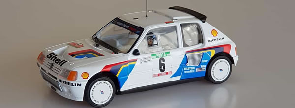 SRC Peugeot 205 T16 Evo1 CHRONO Portugal 85 Rally Winner