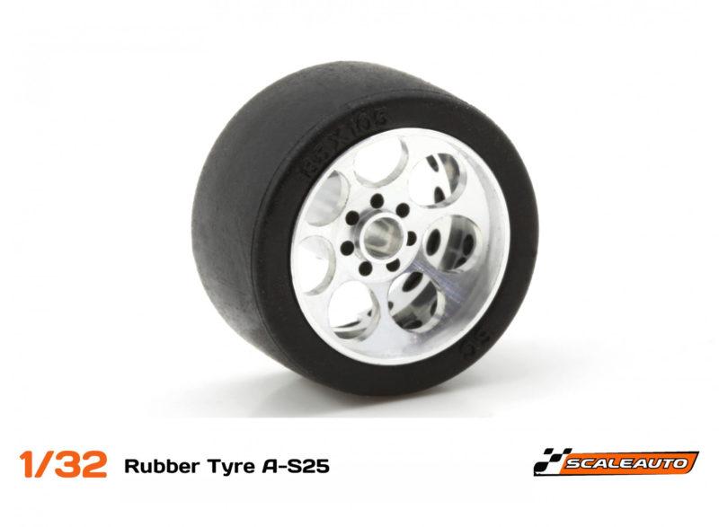 Scaleauto Des nouvelles tailles pour les pneus A-S25