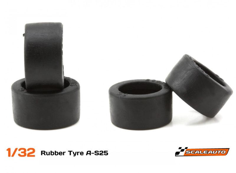 Scaleauto: Des nouvelles tailles pour les pneus A-S25