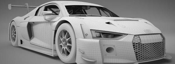 Scaleauto Un nouveau moule carrosserie pour l'Audi R8 LMS GT3 124 (4)