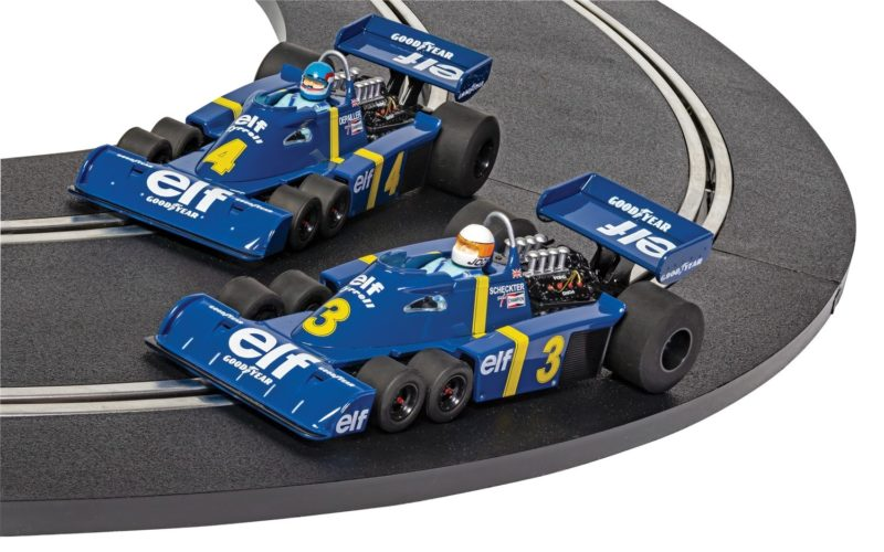 Scalextric le coffret collector Tyrrell P34 - Swedish GP 1976 - C4084A