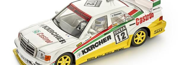 Slot.it: la Mercedes 190E DTM #12 - 1992 Zolder - CA44b