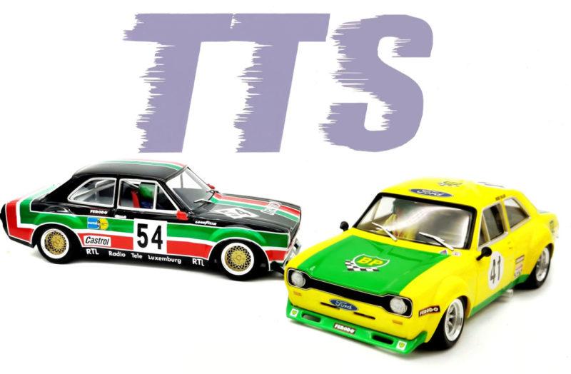TTS: Deux nouvelles décorations pour la Ford Escort Mk1