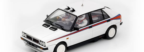 "Team Slot: Lancia Delta HF 4WD - ""Test Car Martini"" Ref: TS12903"