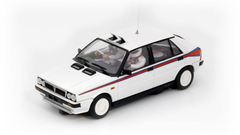 Team Slot Lancia Delta HF 4WD - Test Car Martini Ref TS12903