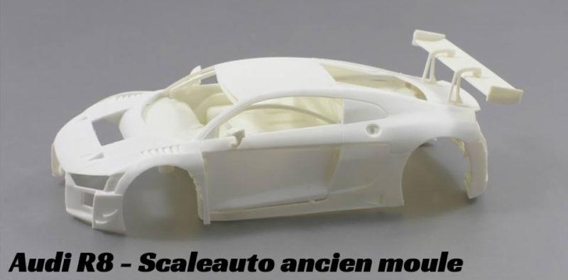 audi R8 - Scaleauto ancien moule