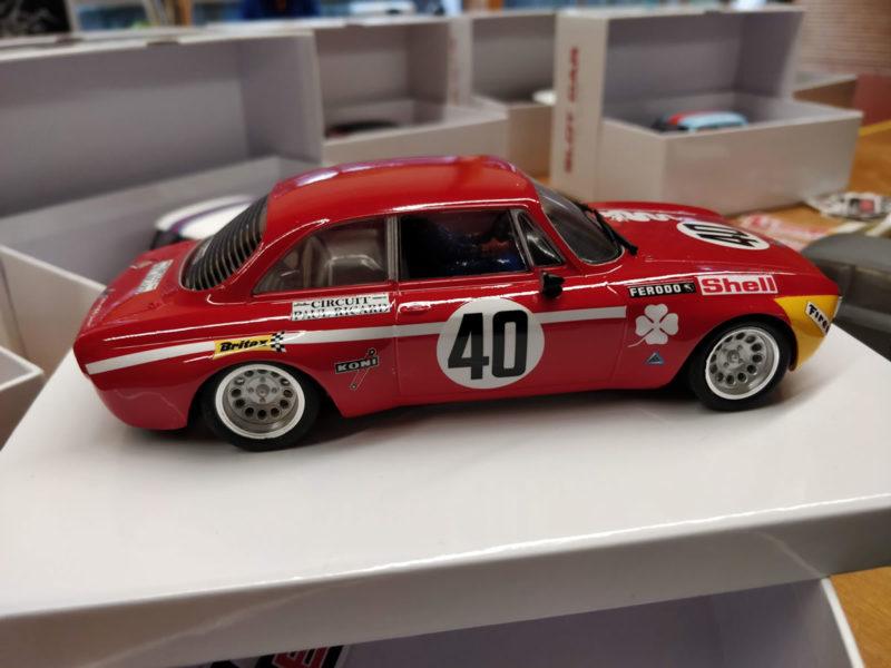 BRM - l'Alfa GTA 1300 Junior - 12h Paul Ricard 1971