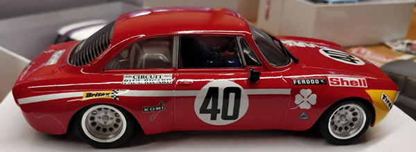 BRM: les photos de l'Alfa GTA 1300 Junior – 12H Paul Ricard 1971