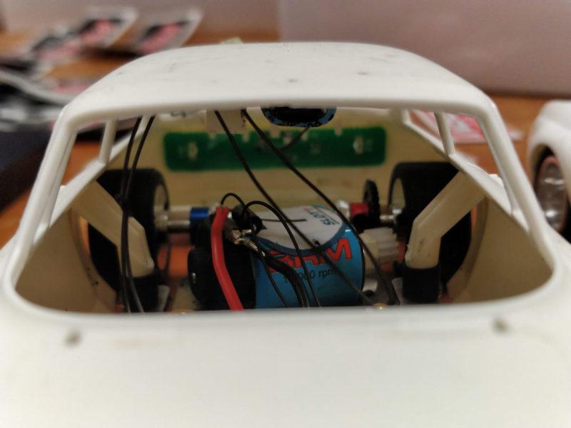 BRM - plaquette feux arrière