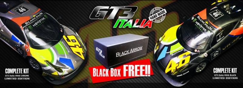 Black Arrow: Deux versions de la GT3 Italia Valentino Rossi Nürburgring 2012