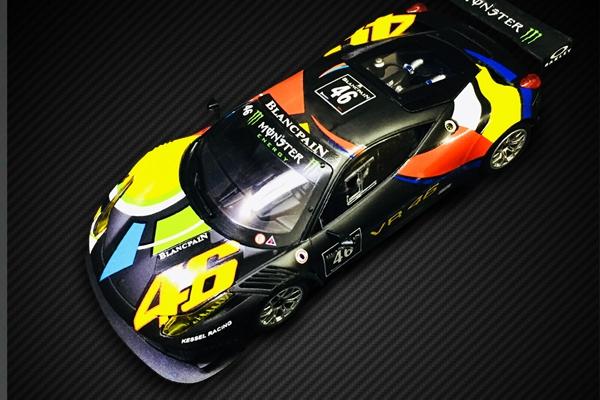 GT3 ITALIA Valentino Rossi Nürburgring 2012 #46 NOIR