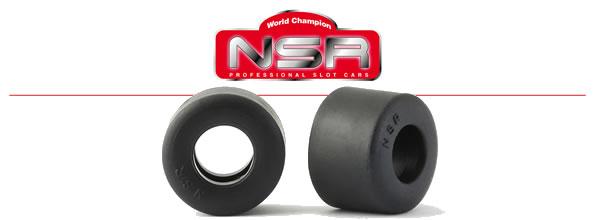 NSR: Des pneus racing et des nouveaux inserts pour les F1
