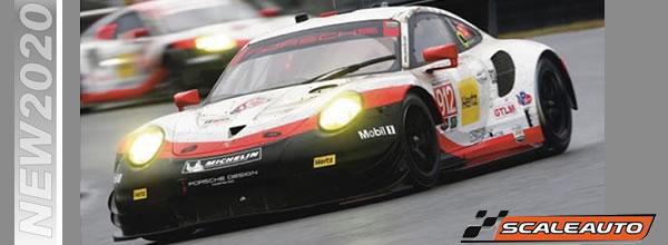 Scaleauto: un nouveau moule pour la Porsche 911 GT3 RSR 1/32