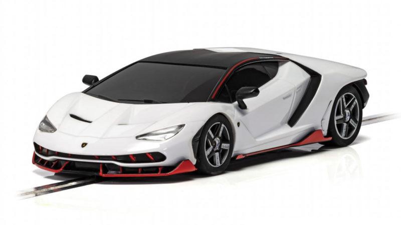 Scalextric la Lamborghini Centenario white C4087