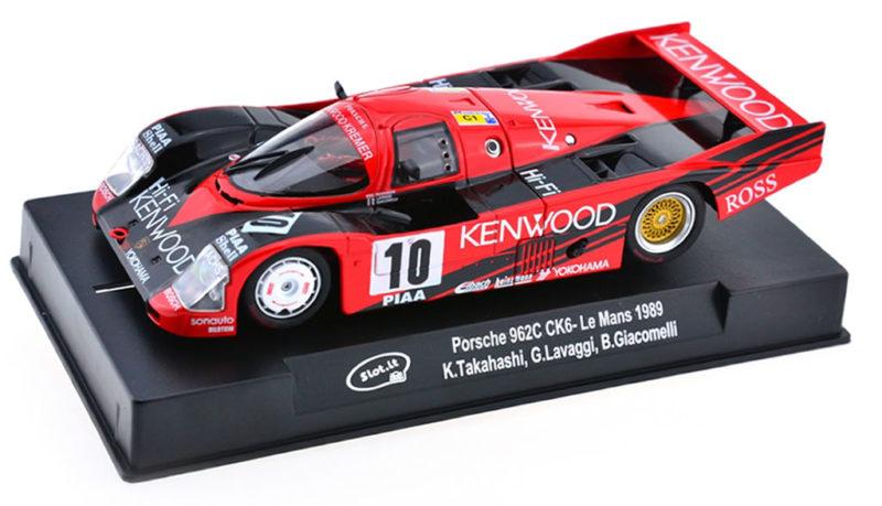 Slot.it Porsche 962C Le Mans 1989 Kenwood SICA34c