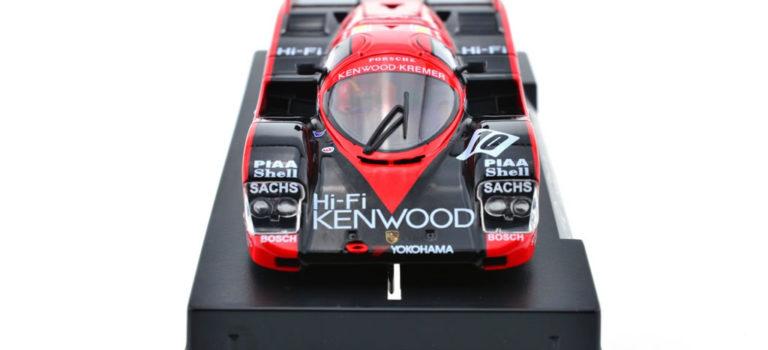 """Slot.it Porsche 962C Le Mans 1989 """"Kenwood"""" SICA34c en approche"""