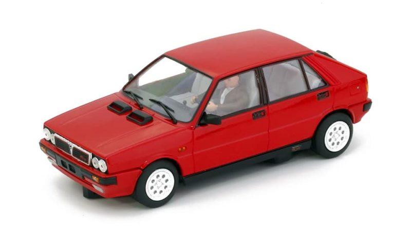 Teamslot  La Lancia Delta HF 4 WD Red Road Car