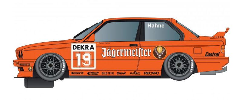 BMW E30 M3 - Team Jagermeister - #19 - Hahne