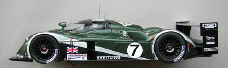 Bentley EXP Speed 8 n°7 - Le Mans miniatures - 132017EVO