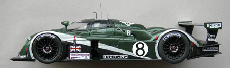 Bentley EXP Speed 8 n°8 - Le Mans miniatures - 132017EVO