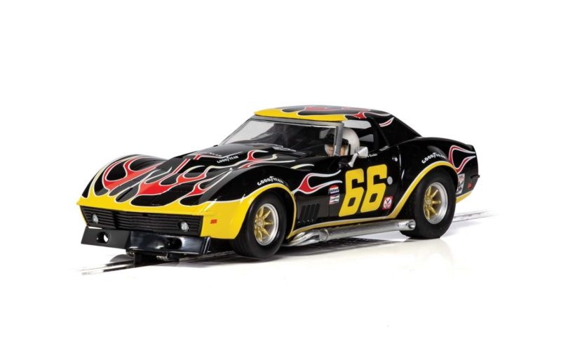Chevrolet Corvette - No. 66 'Flames - C4107