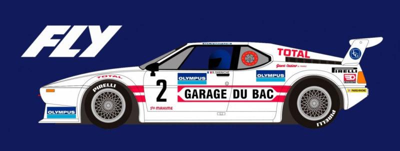 FLY A2011 BMW M1 Rallye du Var 1981