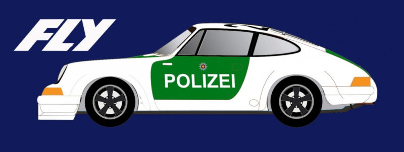 FLY A2016 Porsche 911 Germany Polizei