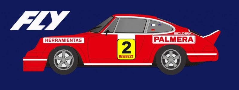 FLY E2007 Porsche 911 Rallye 2000 Virages 1974