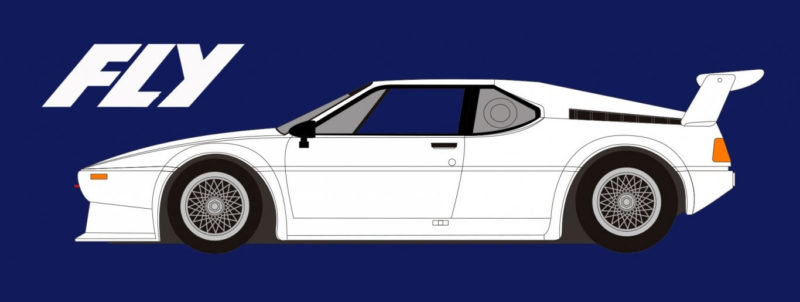 FLY FK2000 BMW M1 - Kit Blanc