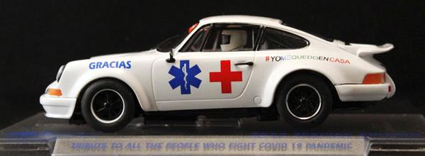 Fly Slot: La Porsche 911 #stayathome pour la Croix Rouge