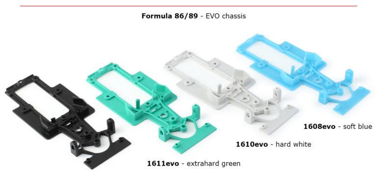 NSR Slot: Des châssis EVO pour les F1 86/89