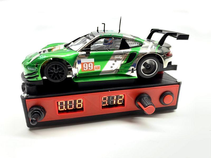 PRS Slot le Banc d'alimentation pour slot cars version 2.0