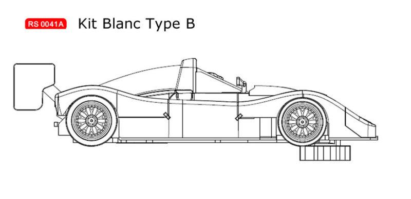 RS0041B Kit blanc Ferrari 333 SP à monter