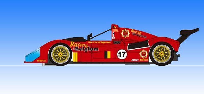 RS0058 - Revoslot 333 SP Evo N ° 17 - 24 Heures du Mans 1996 333 SP
