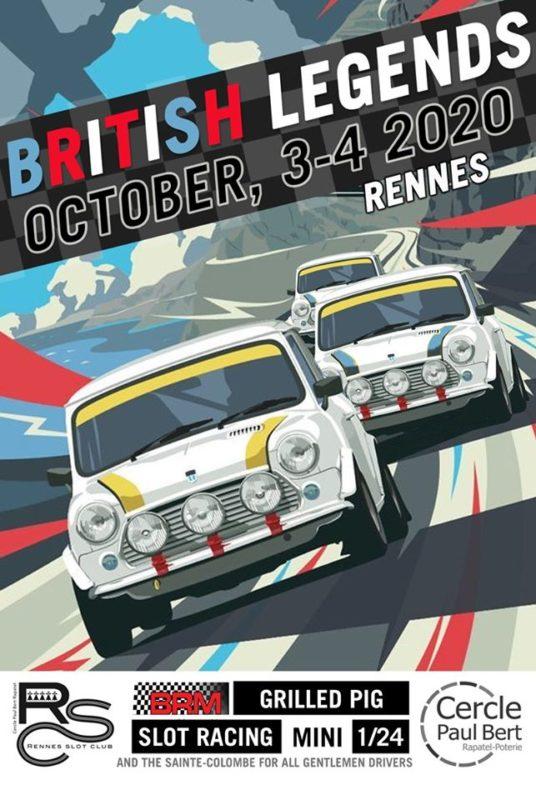 Rennes Slot Club En mode British Legends au mois d'octobre